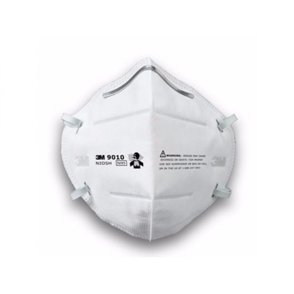 Mask 3m9010 3m Foldable Half Particulate Respirator mist Dust N95