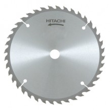 "Hitachi 7 1/4"" (185mm) Wood Blade - 40T, 25.4mm Bore (402482)"
