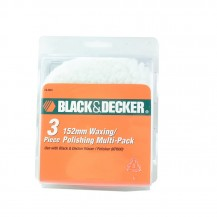 Black & Decker 74603 Waxing/Polishing Multi-Pack Blue and White for KP600