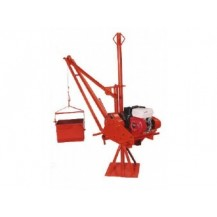 Hisaki Lifting Hoist c/w Robin Engine EY20