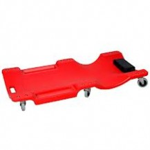 "HONG YU  PVC CREEPER 40""   C/W 6 WHEELS  ( RED COLOUR ) A1109"