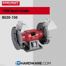 "Worcraft BG20150 Bench Grinder 6"" 200W 2950Rpm (150x16x12.7mm )"
