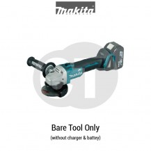 "MAKITA DGA406Z 18V 100MM (4"") CORDLESS ANGLE GRINDER (LXT SERIES)"