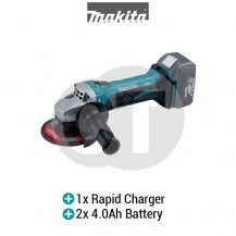 "MAKITA DGA452RME 4-1/2"" (115MM) CORDLESS ANGLE GRINDER (LXT SERIES)"