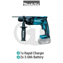 "MAKITA DHR165RFE 16MM (5/8"") CORDLESS ROTARY HAMMER (LXT SERIES)"