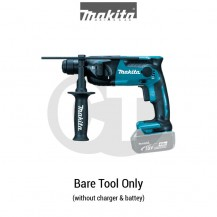 "MAKITA DHR165Z 16MM (5/8"") CORDLESS ROTARY HAMMER (LXT SERIES)"