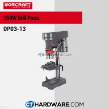 Worcraft DP0313 Bench Drill 13mm 350W 580-2650Rpm (5 Speed)