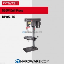 Worcraft DP0516 Bench Drill 16mm 450W 250-2800Rpm(12Speed)