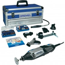 DREMEL 4000 Platinum Edition (175W Rotary Tool + 128pc Accessories) - F0134000KF (4000-6/128)