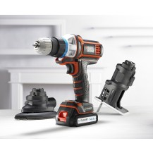 BLACK & DECKER EVO143-B1 14.4V EVO Cordless Multi-Tool (Powertools - Cordless)