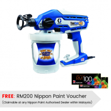 Graco Truecoat 360 Electric Airless Sprayer (Water based) - FREE RM200 NIPPON VOUCHER (Claimable at any Authorised Nippon Paint Dealer)