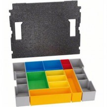 Bosch 1600A001RZ 12 Piece Inset Box Set for L-BOXX