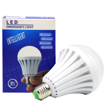 LED RECHARGEABLE EMERGENCY LIGHT & LIGHT BULB 12W 85V-265V