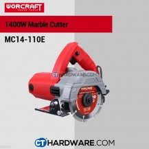 "Worcraft MC14110E Marble Cutter 4"" 1400W 12800Rpm 110mm"