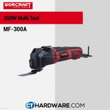 Worcraft MF300A Multi Tool 300W 11000-21000Rpm W Power Speed & Vacuum Function