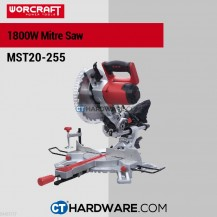 "Worcraft MST20255 Sliding Miter Saw 10"" 5000Rpm 1800W ( 255mmx30x60T)"