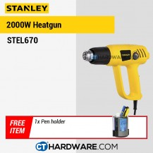 Stanley STEL670 Heatgun 2000W FOC PEN HOLDER