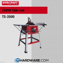 Worcraft TS2000 Table Saw 2000W 5000Rpm 255x30x24T