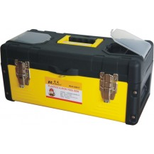 "REWIN WJA8014 PVC TOOL BOX 14""  ( 74 X 36.5 X 37.5 CM )  YELLOW BLACK"